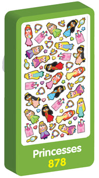 Princesses Scented Purple Peach Stickers