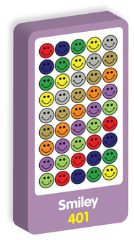Smiley Stickers Purple Peach Stickers