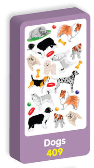 Dogs Stickers Purple Peach Stickers