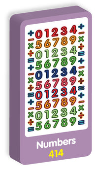 Numbers Stickers Purple Peach Stickers