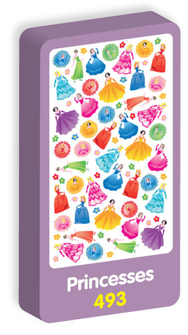Princesses Stickers Purple Peach Stickers