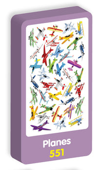 Planes Stickers Purple Peach Stickers