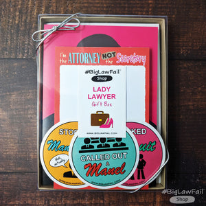 Lady Lawyer Gift Box