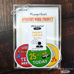 Snarky Lawyer Gift Box