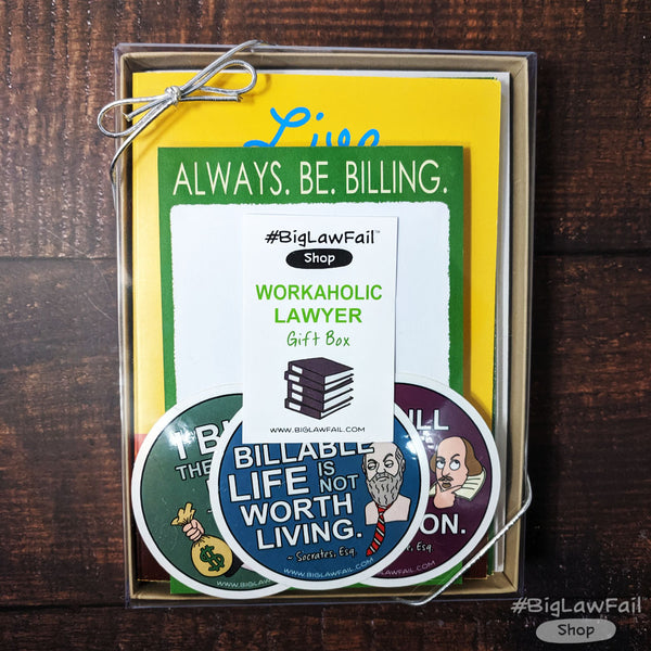 Workaholic Lawyer Gift Box