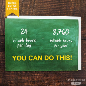 Billable Hours Card, Box of 8
