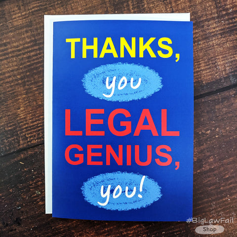 Legal Genius Card
