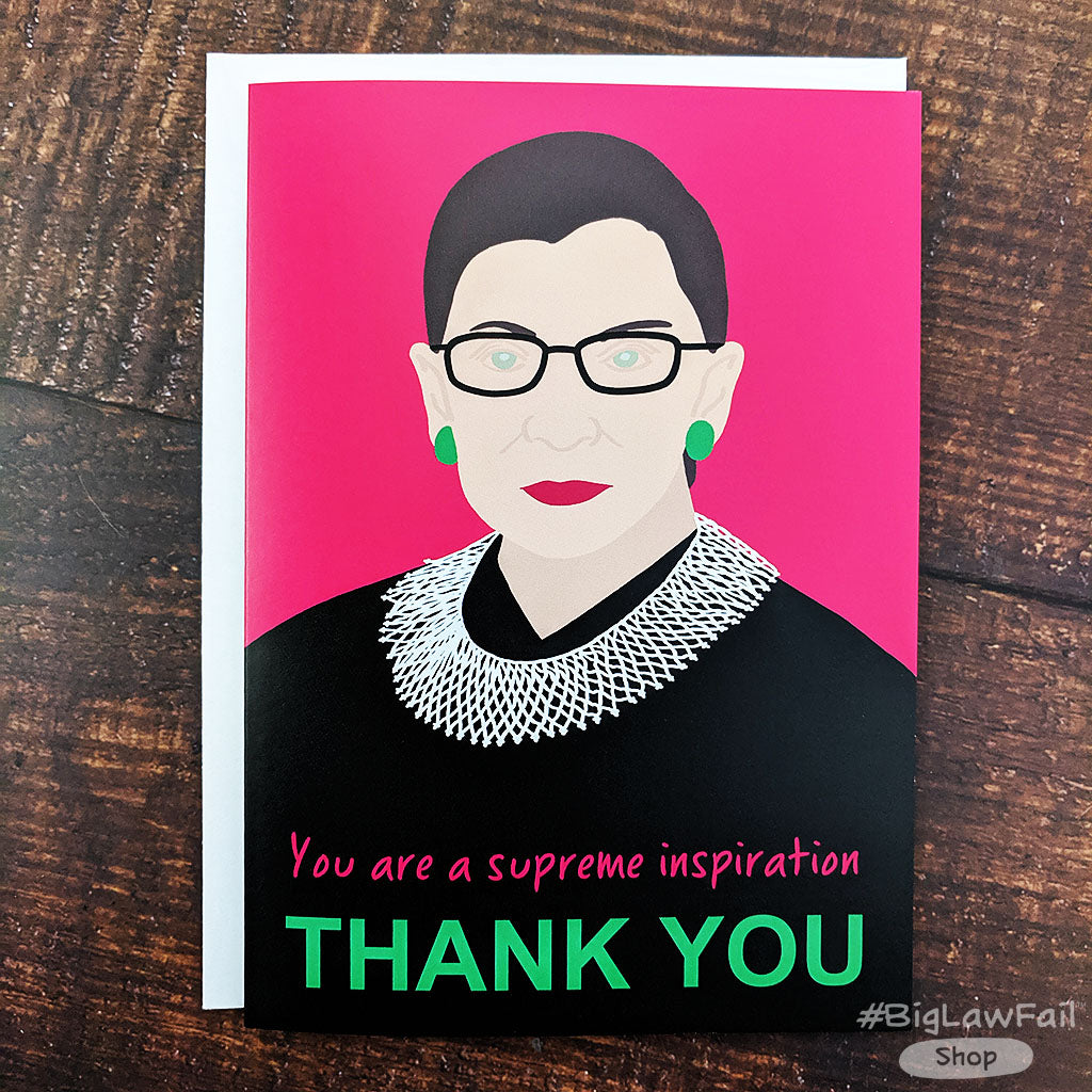 Supreme Inspiration RBG Card