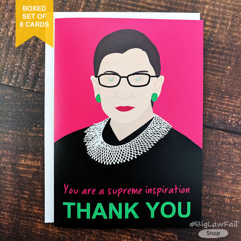 Supreme Inspiration RBG Card, Box of 8