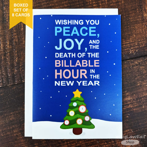 Peace Joy Card, Box of 8
