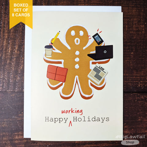 Working Holidays Card, Box of 8