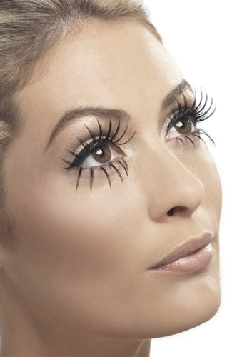 Gothic Manor Ghost Bride Eyelashes - Black FV-34537