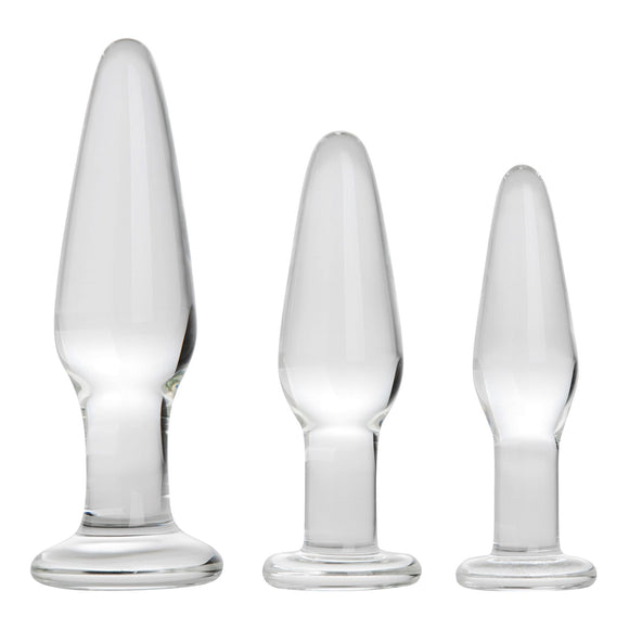 Adam & Eve Glass Anal Training Trio AE-WF-2339-2