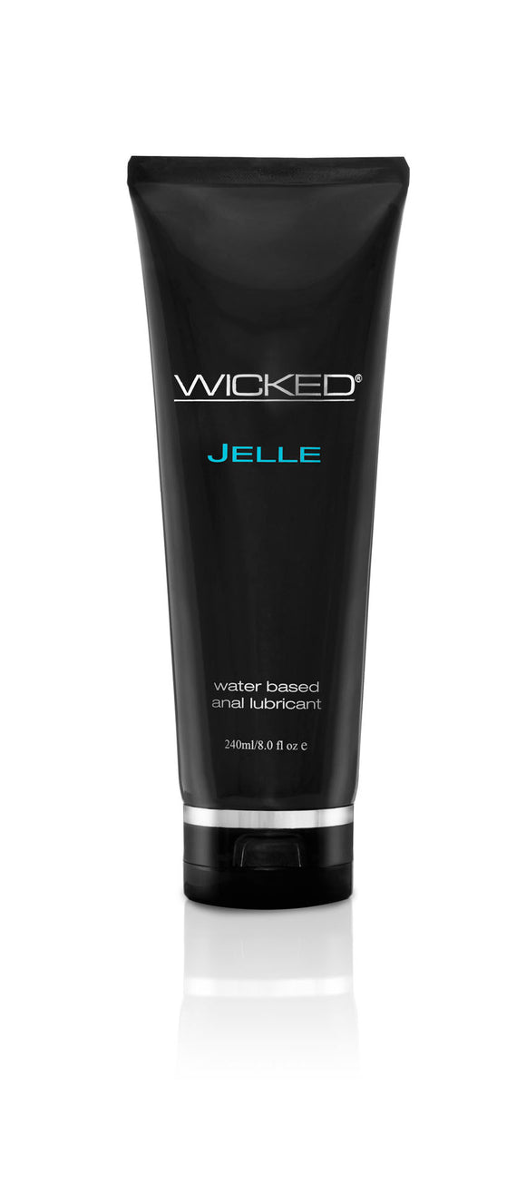 Wicked Jelle Anal Lubricant 8.0 Oz WS-90109