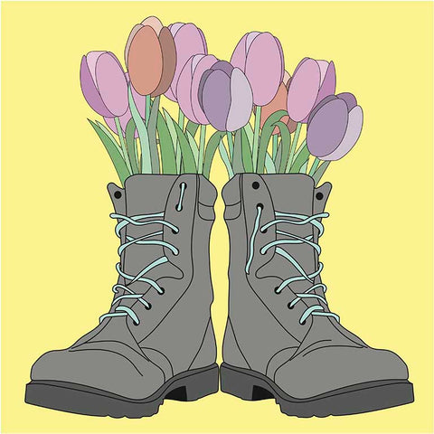These Boots Were Made for Lovin' - War on Peace series | Dana Hanna