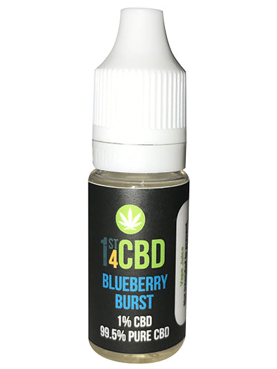 1st4CBD Blueberry Burst Vape