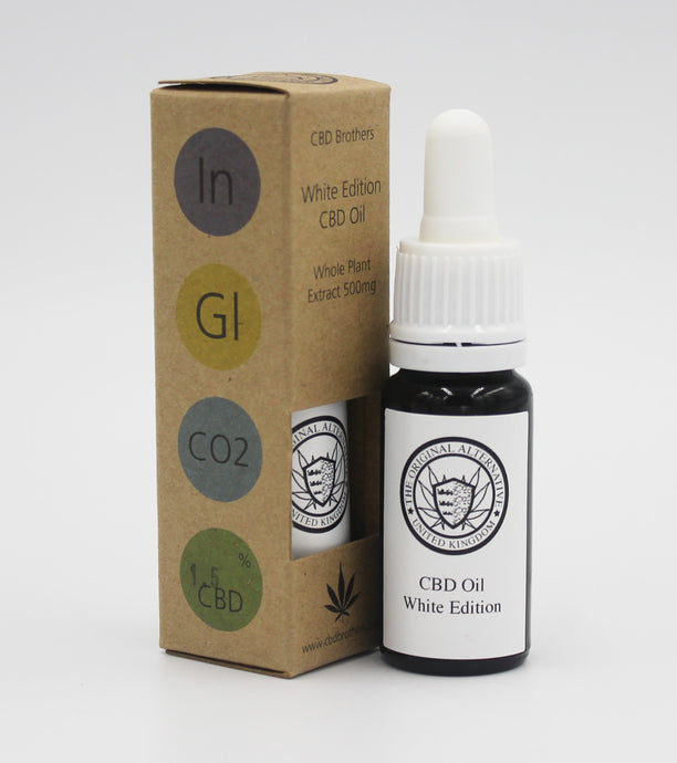 CBD White Edition Oil (Indica)