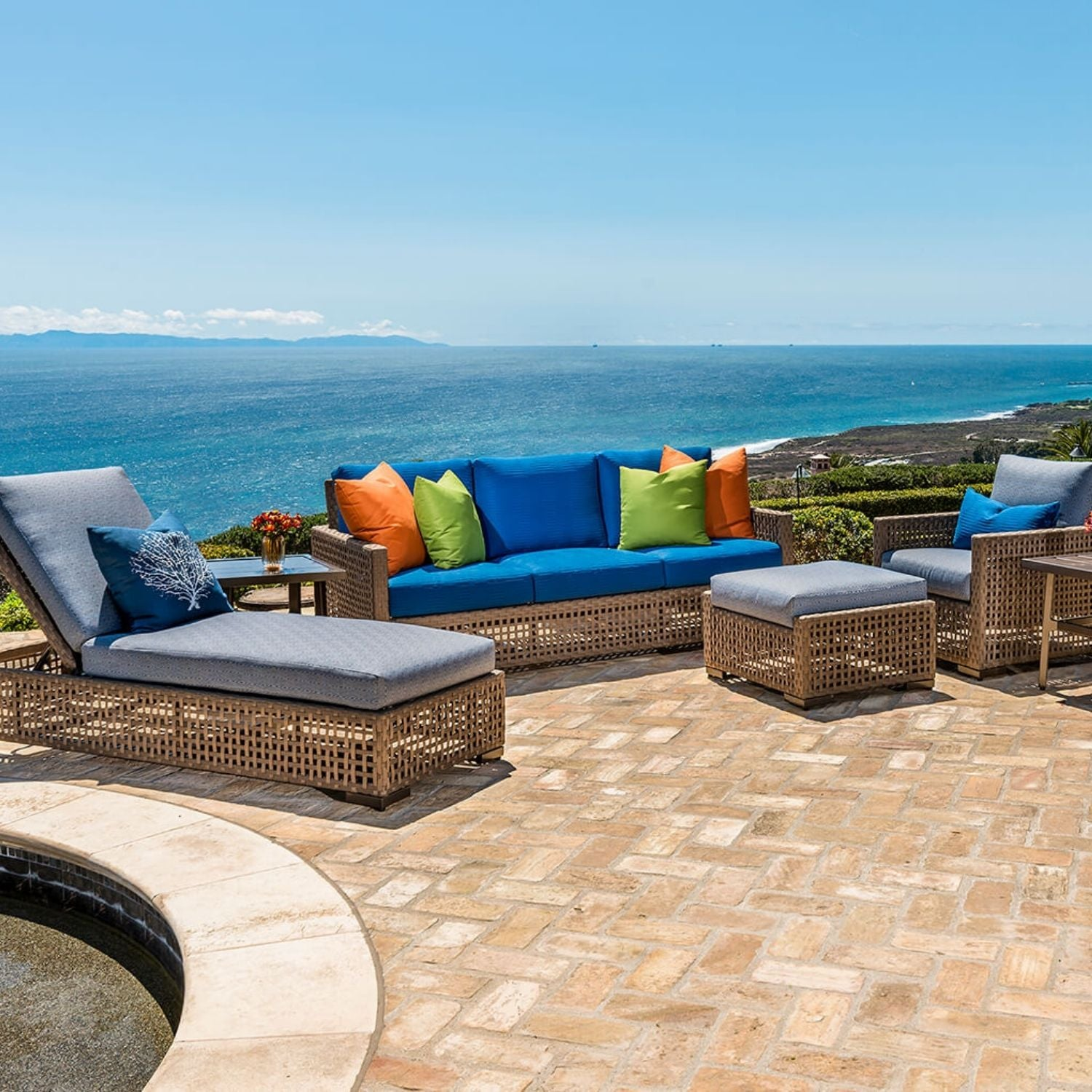 Gensun Barclay Cast Aluminum Outdoor Furniture