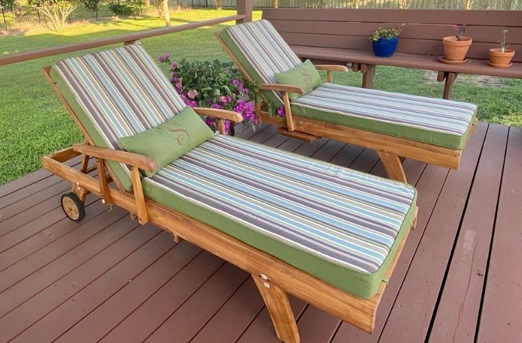 Outdoor Patio Furniture, Cushion,Chaise, Riviera Outdoor Decor, Corpus Christi, Texas