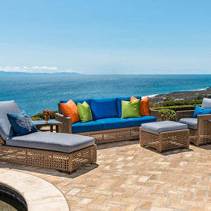 Woven outdoor furniture Riviera Outdoor Decor Port Aransas, Texas