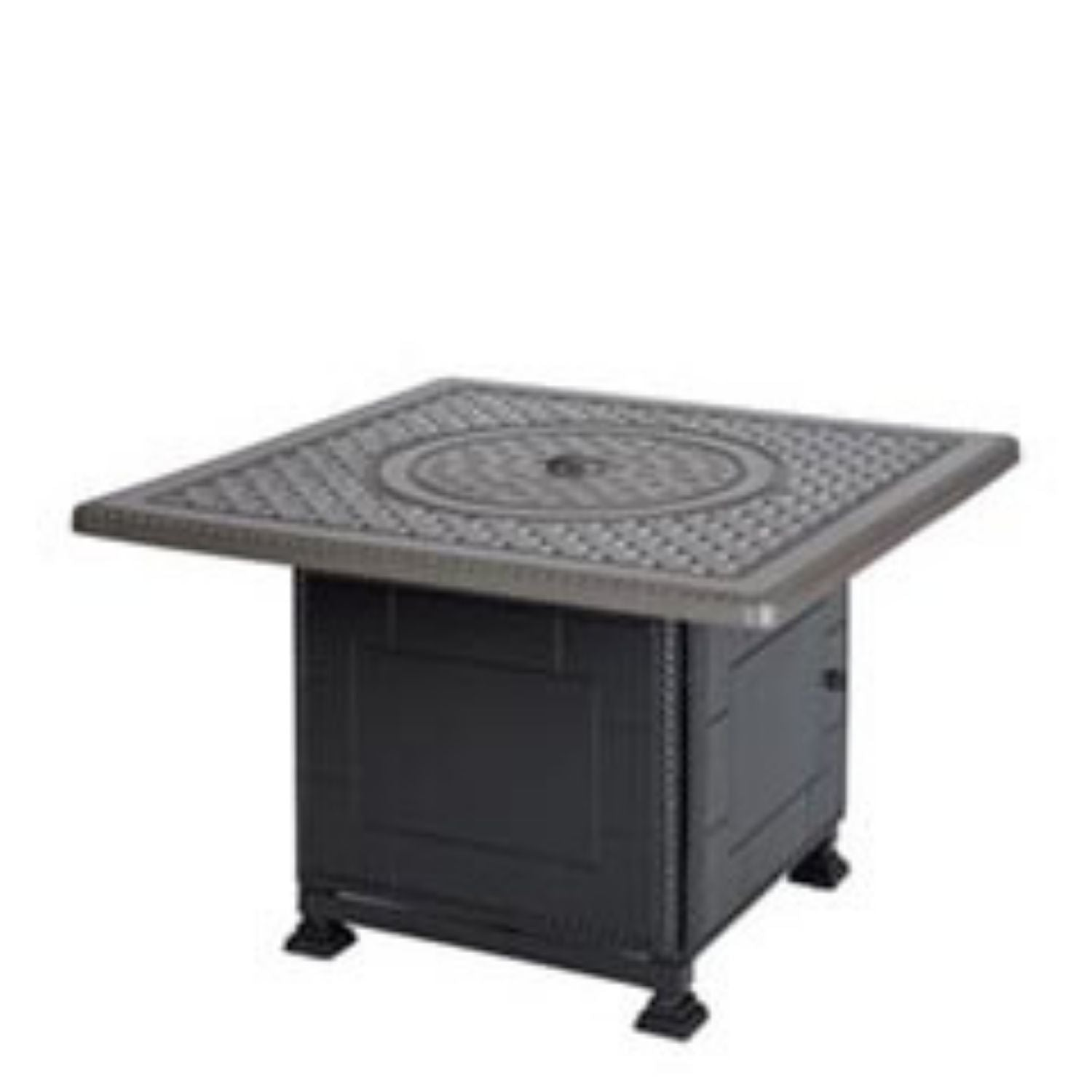 "Grand Terrace 42"" Square Fire Table"