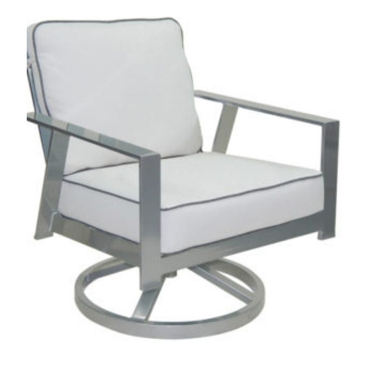 Trento Cushioned Lounge Swivel Rocker