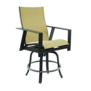 Trento High Back Sling Counter Stool