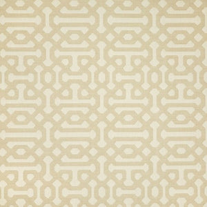 Sunbrella Fretwork Flax fabric