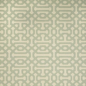 Sunbrella Sample - Fretwork Mist
