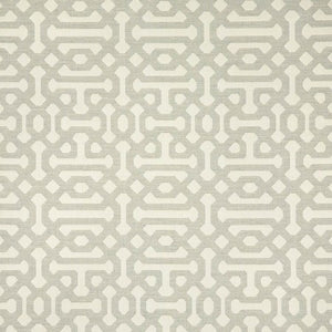 Sunbrella Fretwork Pewter fabric