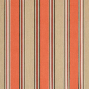 Sunbrella Passage Poppy fabric