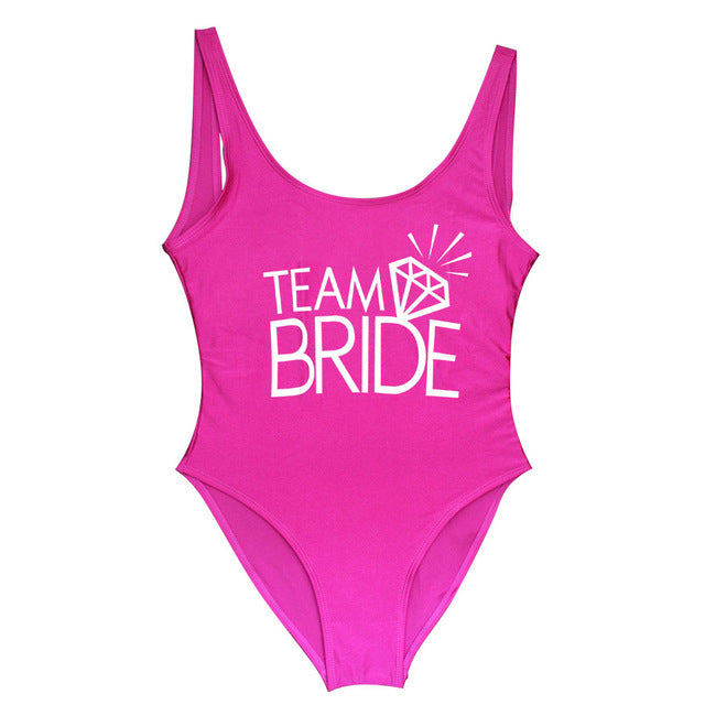 Team Bride Diamond One Piece