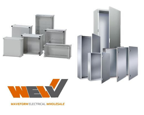 Shop the full range of our Electrical Enclosures by clicking on our Logo below... WEW Waveform
