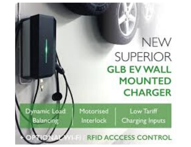 Electric Vehicle Charging Station Socket for Home / Workplace