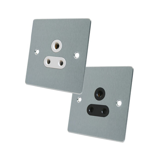 FLAT 5AMP SOCKET CHROME