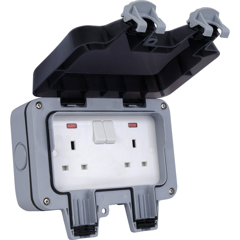 2 GANG OUTDOOR SOCKET