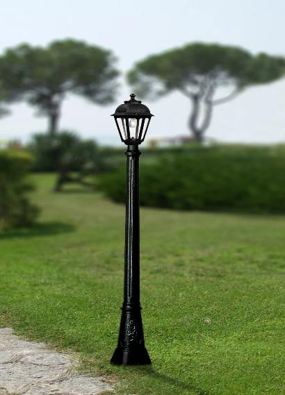 Fumagalli Artu Saba Lamp Post Garden Light
