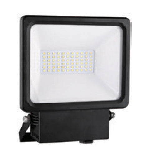 LED PIR Floodlight 10 Watt Black