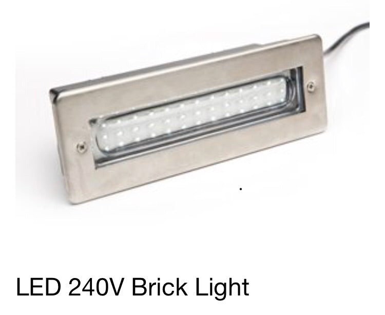 LEDBRICKWH LED 240V Brick Light
