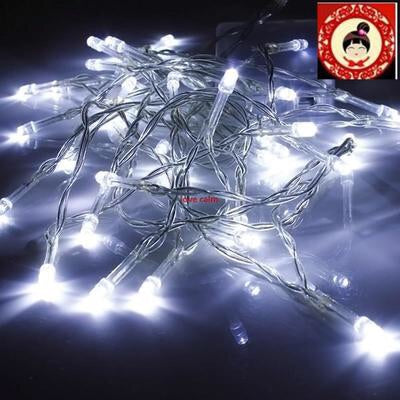 Led Christmas Lights White.Led Christmas Lights 300 Cool White