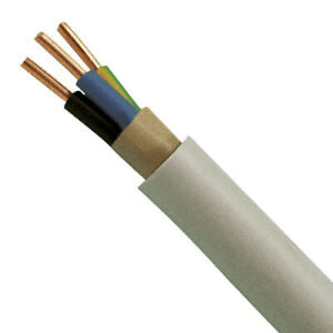 NYMJ CABLE 3x2.5 mm sq per 1 meter