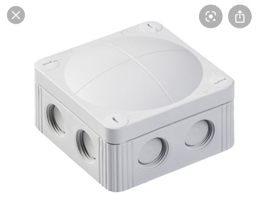 Junction box 85x85x51 mm white