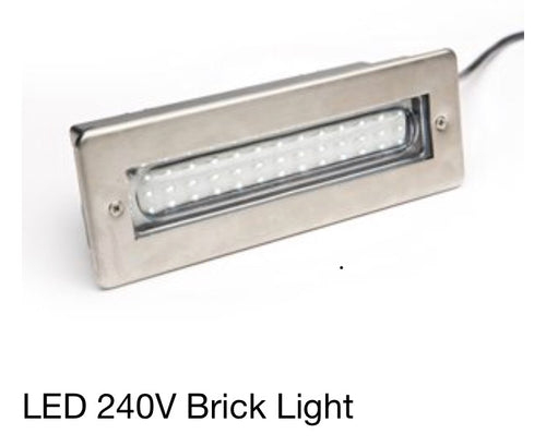 LEDBRICKBL LED 240V Brick Light