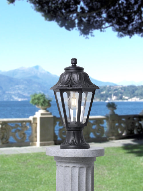 Fumagalli Minilot Anna Lantern with Post/Pier Top Mounting