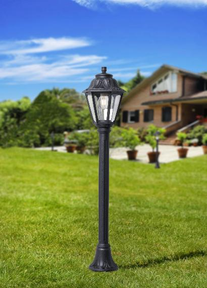 Fumagalli Mizar Anna Lamp Post Lantern Light