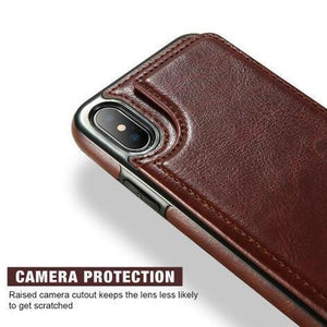 Leather Phone Case With Wallet