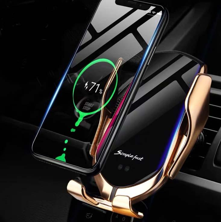 (50% OFF)Wireless Automatic Sensor Car Phone Holder and Charger- Buy 2 Free Shipping