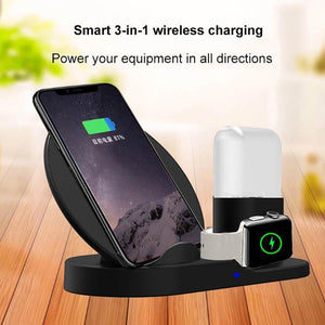 3 in 1 wireless charging
