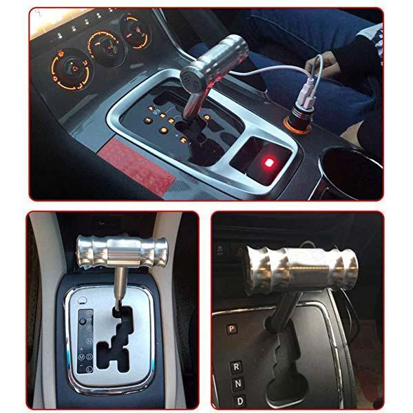 Car Modification Of Gear Shifter Aircraft Joystick