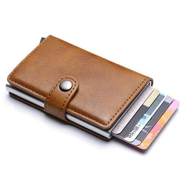 RFID Blocking Vintage Business Wallet